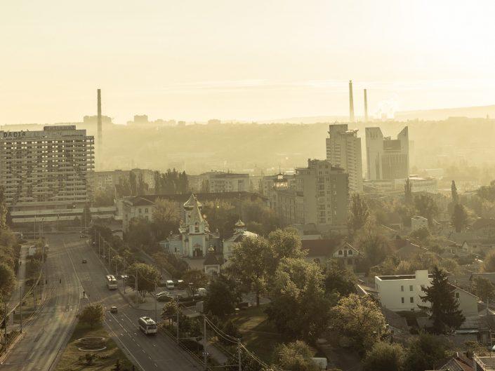 Morning in Chisinau